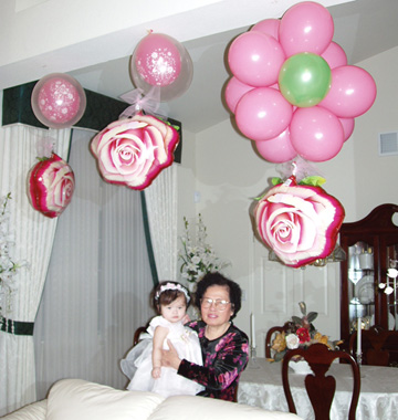 {Rose Balloon for decoration}