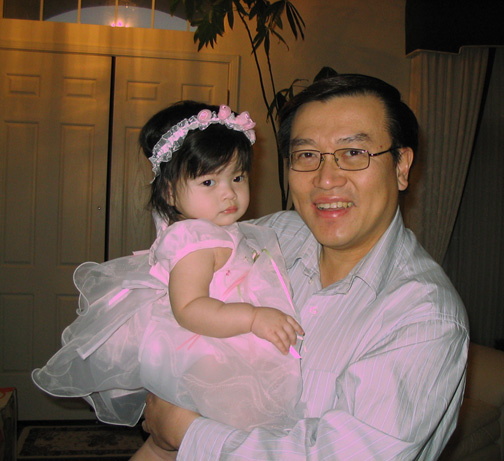 {Little Princess Alysa with Daddy}