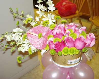 {Centerpiece for Alysa party}