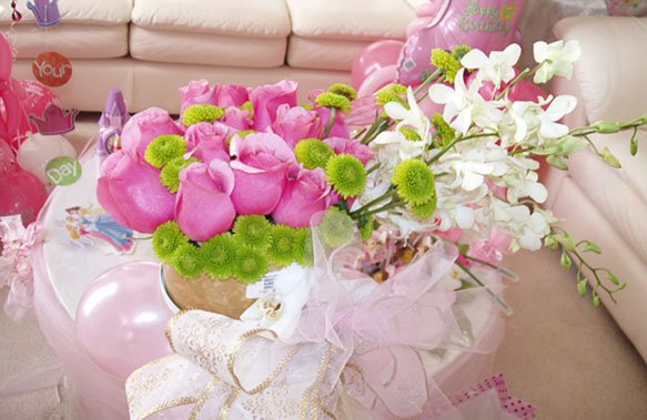 {Centerpiece for the princess}
