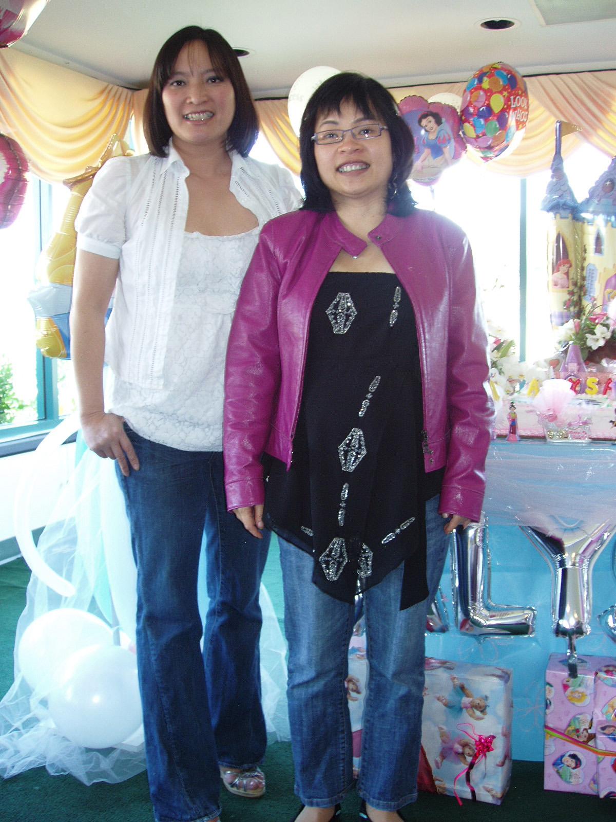 {Trang and Kim Anh}